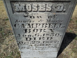 Moses D Campbell