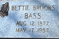 Bettie <i>Brooks</i> Bass