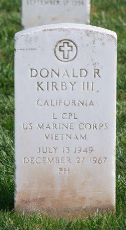 LCpl Donald Robert Kirby, III