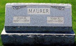 Mary Ann <i>Heckert</i> Maurer
