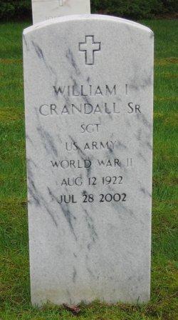 William I. Crandall, Sr