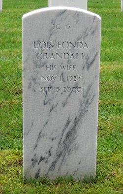 Lois <i>Fonda</i> Crandall