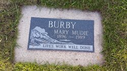 Mary Mudie Burby