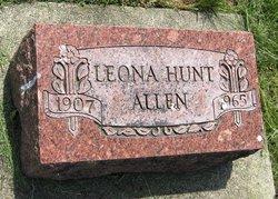 Leona <i>Hunt</i> Allen