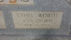 Ethel <i>Worth</i> Muse