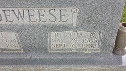 Bertha <i>Nations</i> Deweese