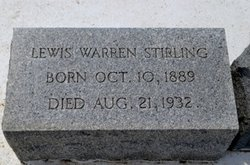 Lewis Warren Stirling