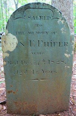 John F Phifer