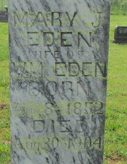 Mary Jane <i>Martindale</i> Eden