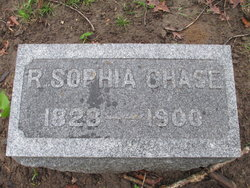 Rebecca Sophia <i>Gridley</i> Chase