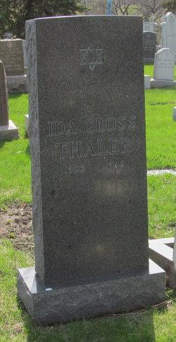 Ida <i>Gross</i> Thaler