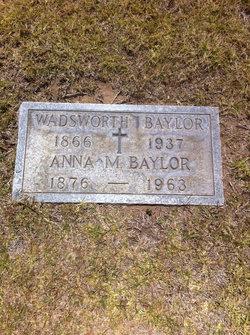 Anna Manning <i>Whitcomb</i> Baylor
