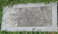 Miriam Irene <i>Sterner</i> Burns