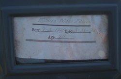 Edna Mae SugarBowl <i>Seber</i> Brown