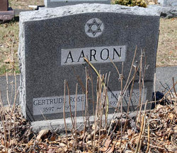 Gertrude Rose <i>Roberts</i> Aaron