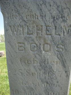 Wilhelm William Boos