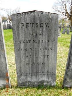 Betsey <i>Mc Lellan</i> Shibles