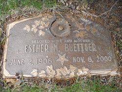 Esther Mildred <i>Winger</i> Buettner