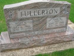 Betty Lucille <i>Brallier</i> Fullerton