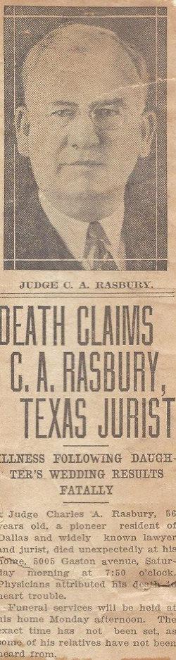 Charles Arthur Rasbury