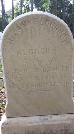 Ann Flournoy <i>Smith</i> Alcocke
