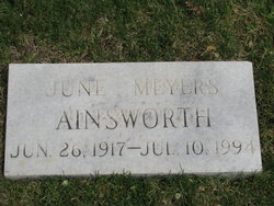 June <i>Meyers</i> Ainsworth