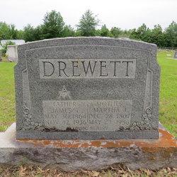 Martha Jane <i>Evans</i> Drewett