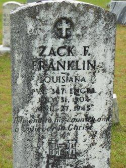 Zack Francis Franklin
