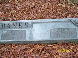 Cleo P <i>Redmon</i> Banks