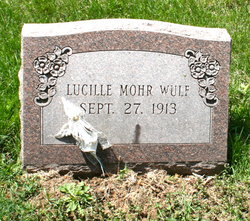 Lucille Lucy <i>Mohr</i> Wulf