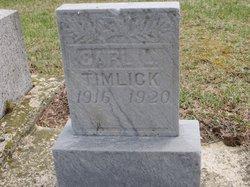 Carl L Timlick