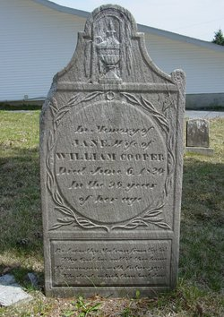 Jane E. <i>Wayland</i> Cooper