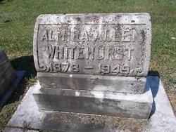 Almira <i>Allen</i> Whitehurst