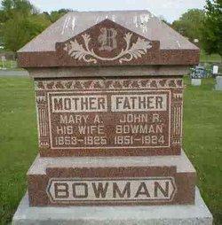 Mary Ann <i>Schaeffer</i> Bowman