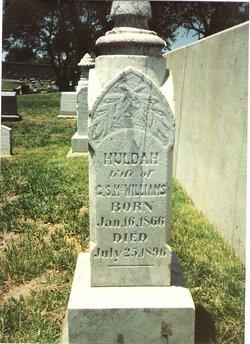 Huldah A.M. <i>Kellner</i> McWilliams