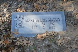 Martha Lois <i>Sanders</i> Massey