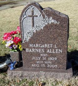 Margaret L. <i>Barnes</i> Allen
