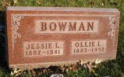 Jessie L. <i>Seevers</i> Bowman