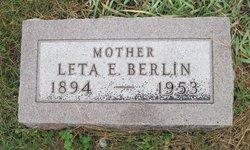 Leta Ethel Lettie <i>Gilbert</i> Berlin