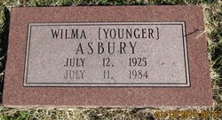 Wilma L. <i>Younger</i> Asbury