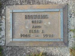 Elsa J. <i>Isaacson</i> Browning