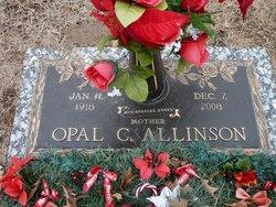 Opal Collene <i>Miller</i> Allinson