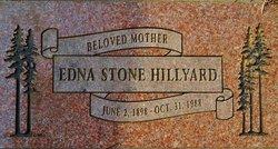 Edna <i>Stone</i> Hillyard