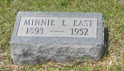 Minnie E. <i>Boyte</i> East