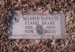 Mildred DuPriest <i>Clarke</i> Brame