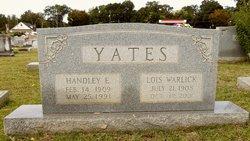 Lois <i>Warlick</i> Yates