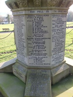 Southborough War Memorial