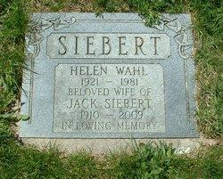 Helen <i>Wahl</i> Siebert