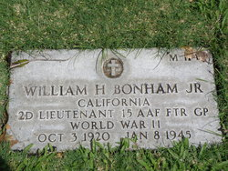 Lieut William Harlan Bonham, Jr