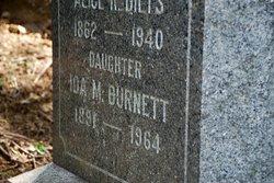 Ida M <i>Beiser</i> Burnett